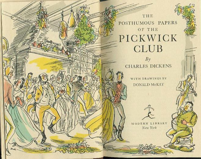 pickwick papers book report