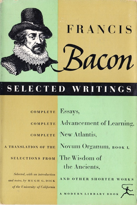 essays of bacon of studies