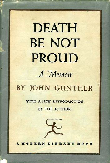 Death Be Not Proud Essay