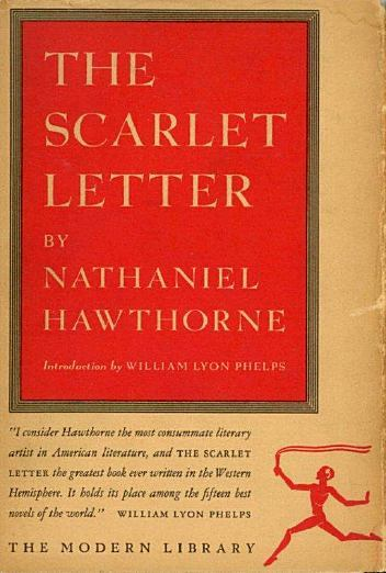 """a review of nathaniel hawthornes the scarlet letter the ministers black veil and young goodman brown Hawthorne creates a stark contrast between the seemingly perfect young newlyweds and their sinister setting, salem at nightfall their names, """"faith"""" and """"goodman,"""" promise the characters' piety and morality, and faith's ribbons seem child-like and innocent."""