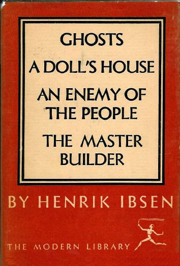 What are some of the main features of modern tragedy in Henrik Ibsen's A Doll's House?