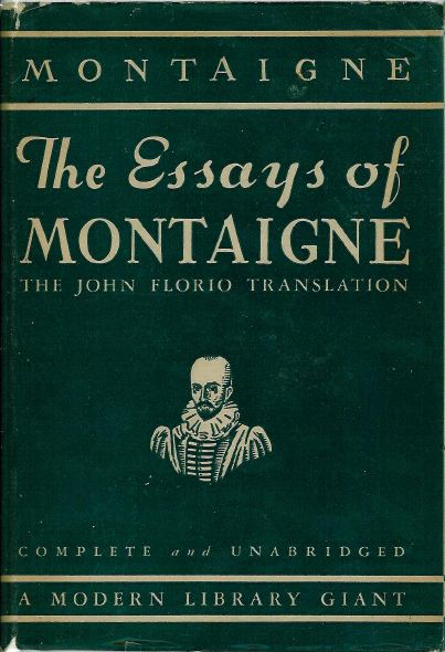 montaigne essays on experience Project gutenberg's the essays of montaigne, complete, by michel de montaigne  this ebook is for the use of anyone anywhere at no cost and with.