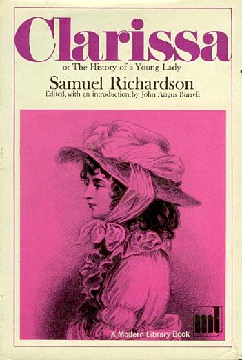 """essays on clarissa by samuel richardson Free essays on clarissa samuel richardson  search commenting on the number of deaths in sense and sensibility sensibility presented the image of a wronged woman given over to """"dementia and decay"""" (p162) one novel in particular titled,."""
